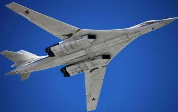 Tupolev Tu-160M supersonic strategic bomber.